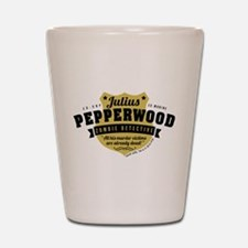 New Girl Julius Pepperwood Shot Glass
