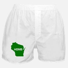 Wisconsin is Home Boxer Shorts