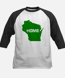 Wisconsin is Home Baseball Jersey