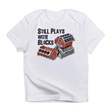 Cute Play with cars Infant T-Shirt