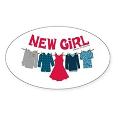 New Girl Laundry Decal