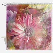 Colorful Daisy Dreams Shower Curtain
