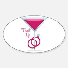 Toast Up Decal
