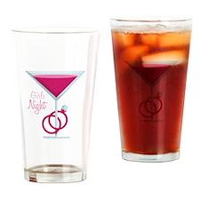 Girls Night Drinking Glass