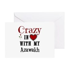 Azawakh Greeting Cards
