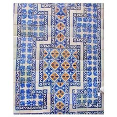 Mexican Tilework Poster
