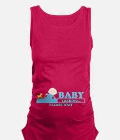 Funny New baby girl Maternity Tank Top