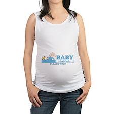 Cute Geek baby Maternity Tank Top