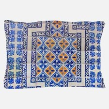 Mexican Tilework Pillow Case