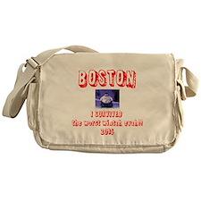 Unique Boston Messenger Bag