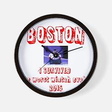 Cute Boston Wall Clock