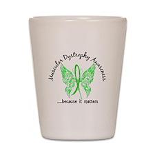 Muscular Dystrophy Butterfly 6.1 Shot Glass
