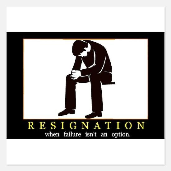 Resignation Invitations