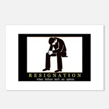Resignation Postcards (Package of 8)