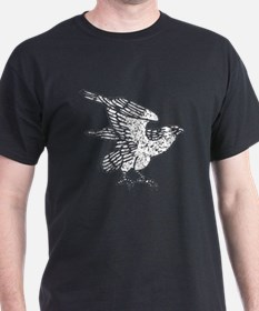 Distressed Falcon Silhouette T-Shirt