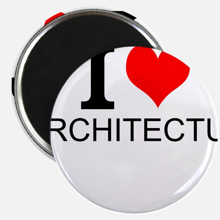 I Love Architecture Magnets