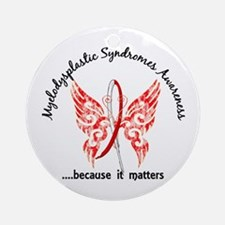 MDS Butterfly 6.1 Ornament (Round)
