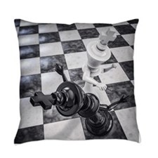 Checkmate Knockout Everyday Pillow