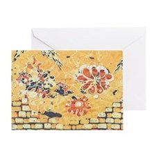 """Writing On The Wall"". Card Greeting Car"