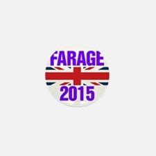 Nigel Farage 2015 General Election Mini Button