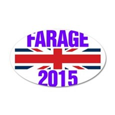 Nigel Farage 2015 General Election Wall Sticker