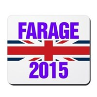 Nigel Farage 2015 General Election Mousepad