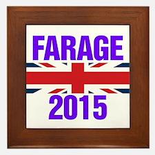 Nigel Farage 2015 General Election Framed Tile