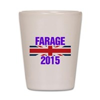 Nigel Farage 2015 General Election Shot Glass