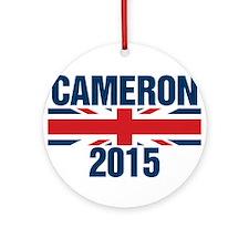 David Cameron 2015 Ornament (Round)