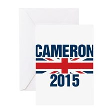 David Cameron 2015 Greeting Cards