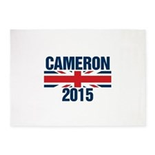 David Cameron 2015 5'x7'Area Rug