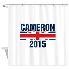 David Cameron 2015 Shower Curtain