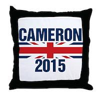 David Cameron 2015 Throw Pillow
