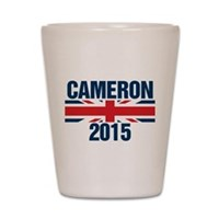 David Cameron 2015 Shot Glass