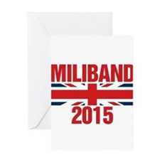 Miliband 2015 Greeting Cards