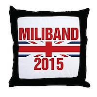 Miliband 2015 Throw Pillow