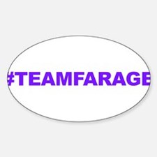 Team Farage Decal