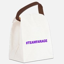 Team Farage Canvas Lunch Bag