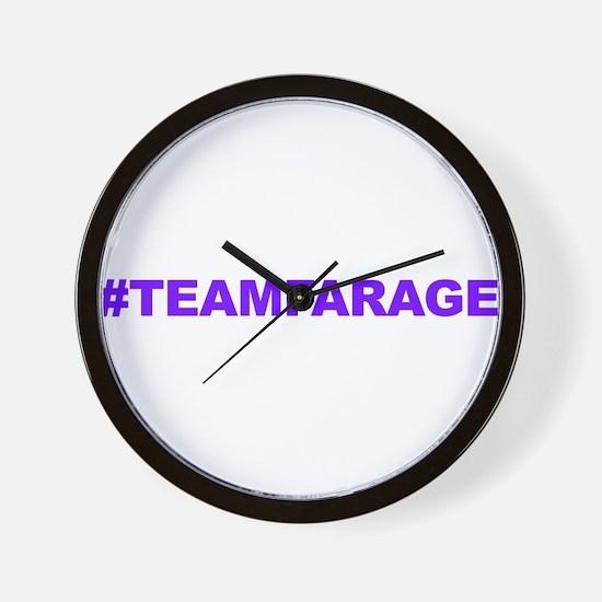 Team Farage Wall Clock