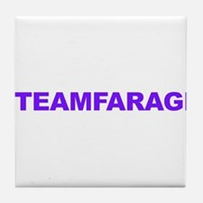 Team Farage Tile Coaster