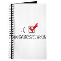 I Vote Conservatives Journal