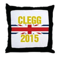 Clegg 2015 Throw Pillow