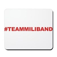 Team Miliband Mousepad
