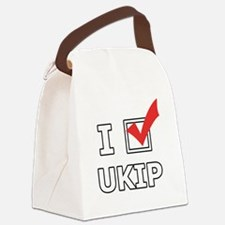 I Vote UKIP Canvas Lunch Bag