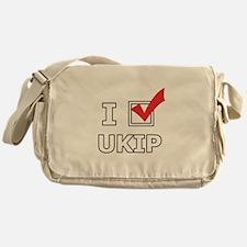 I Vote UKIP Messenger Bag