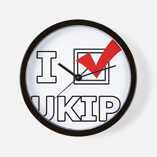 I Vote UKIP Wall Clock