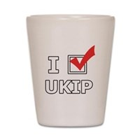 I Vote UKIP Shot Glass