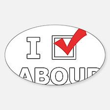 I Vote Labour Decal