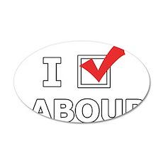 I Vote Labour Wall Sticker