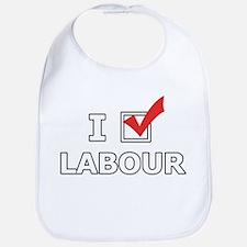 I Vote Labour Bib